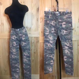 Human Made streetwear green  camo jeans